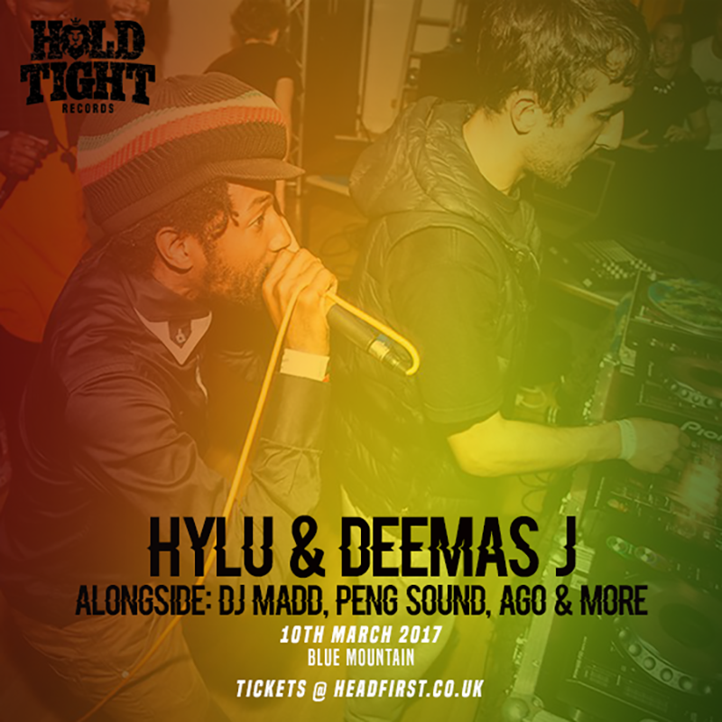 hylu deemas j unit 137 hold tight records bristol