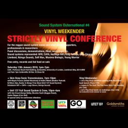 sound system outernational strictly vinyl 4