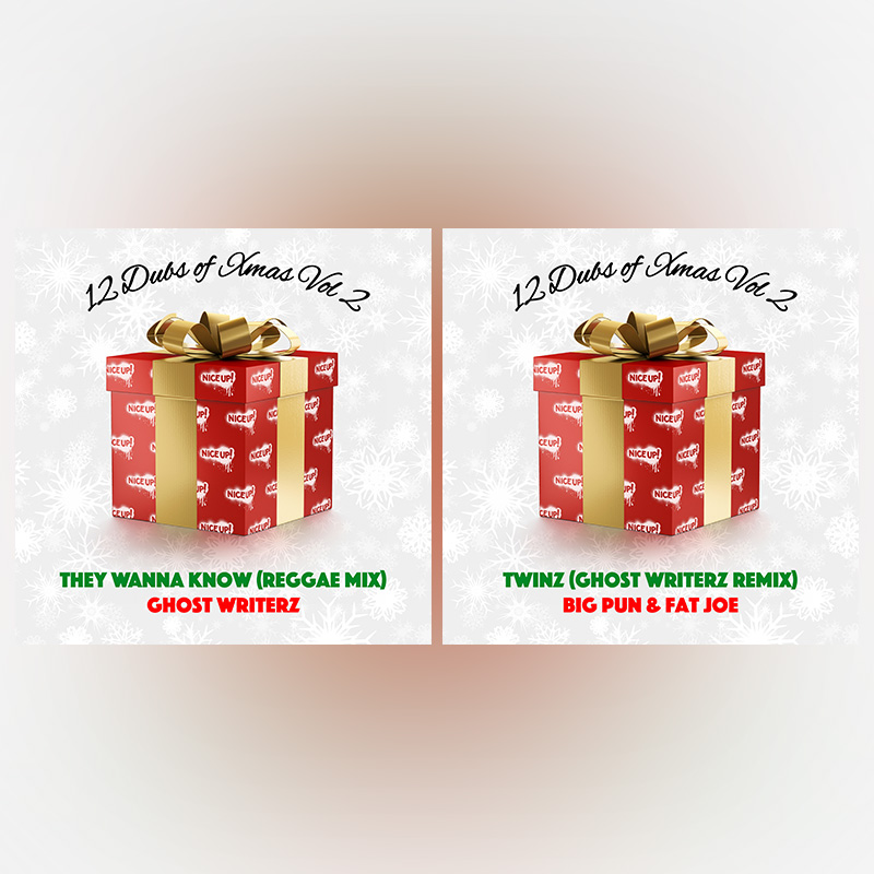 ghost writerz 12 dubs of xmas vol 2 nice up records