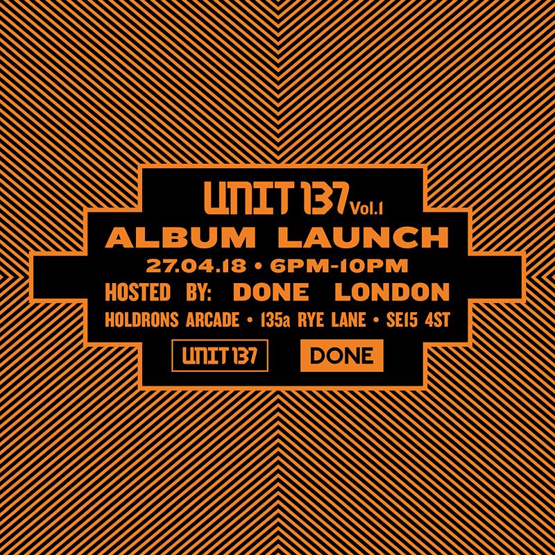 unit 137 vol 1 album launch done london
